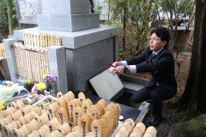 埋葬2017年4月8日月例法要