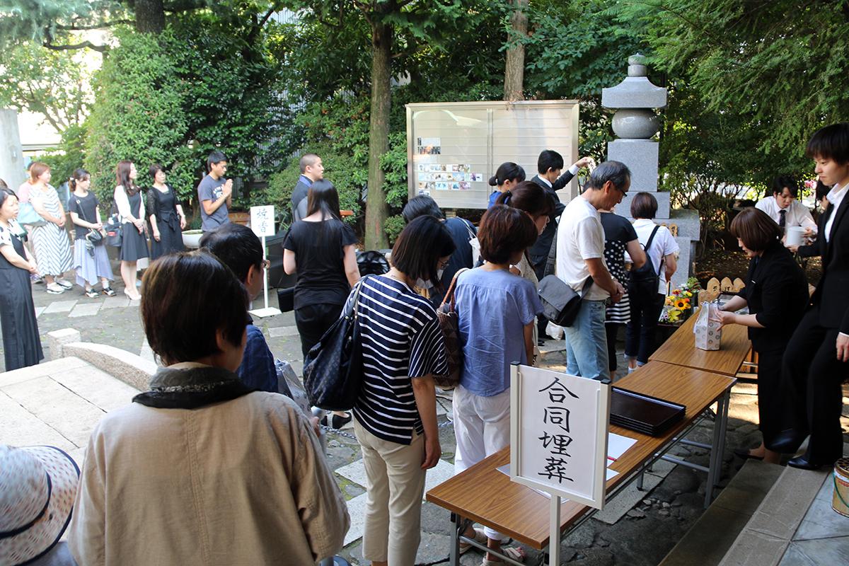 2017.7.8月例法要(納骨)
